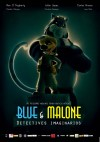 Cartel de Blue & Malone, detectives imaginarios